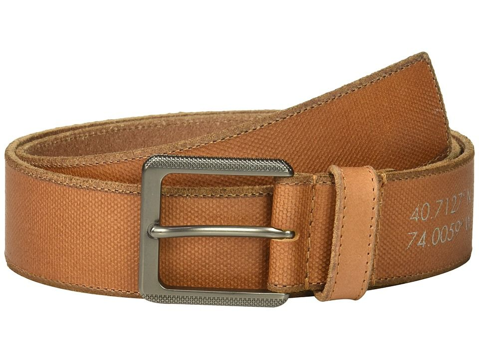 CALVIN KLEIN CALVIN KLEIN - 38MM BELT W/ HARNESS BUCKLE (WHISKEY) MEN'S BELTS. #calvinklein #