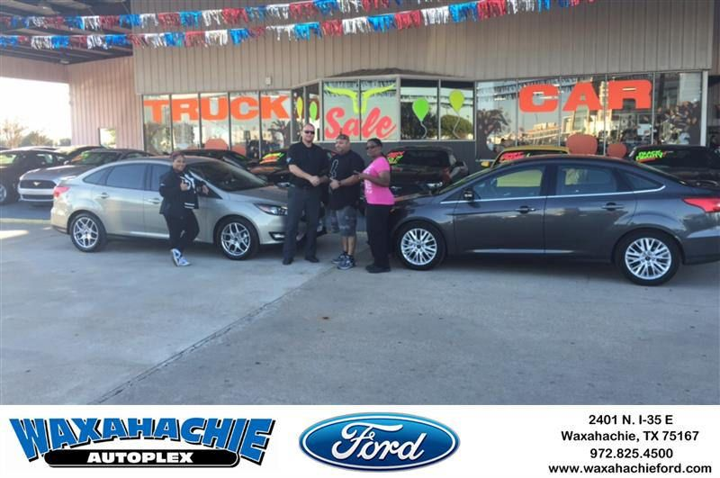 Congratulations Juan on your Ford Focus from Shawn