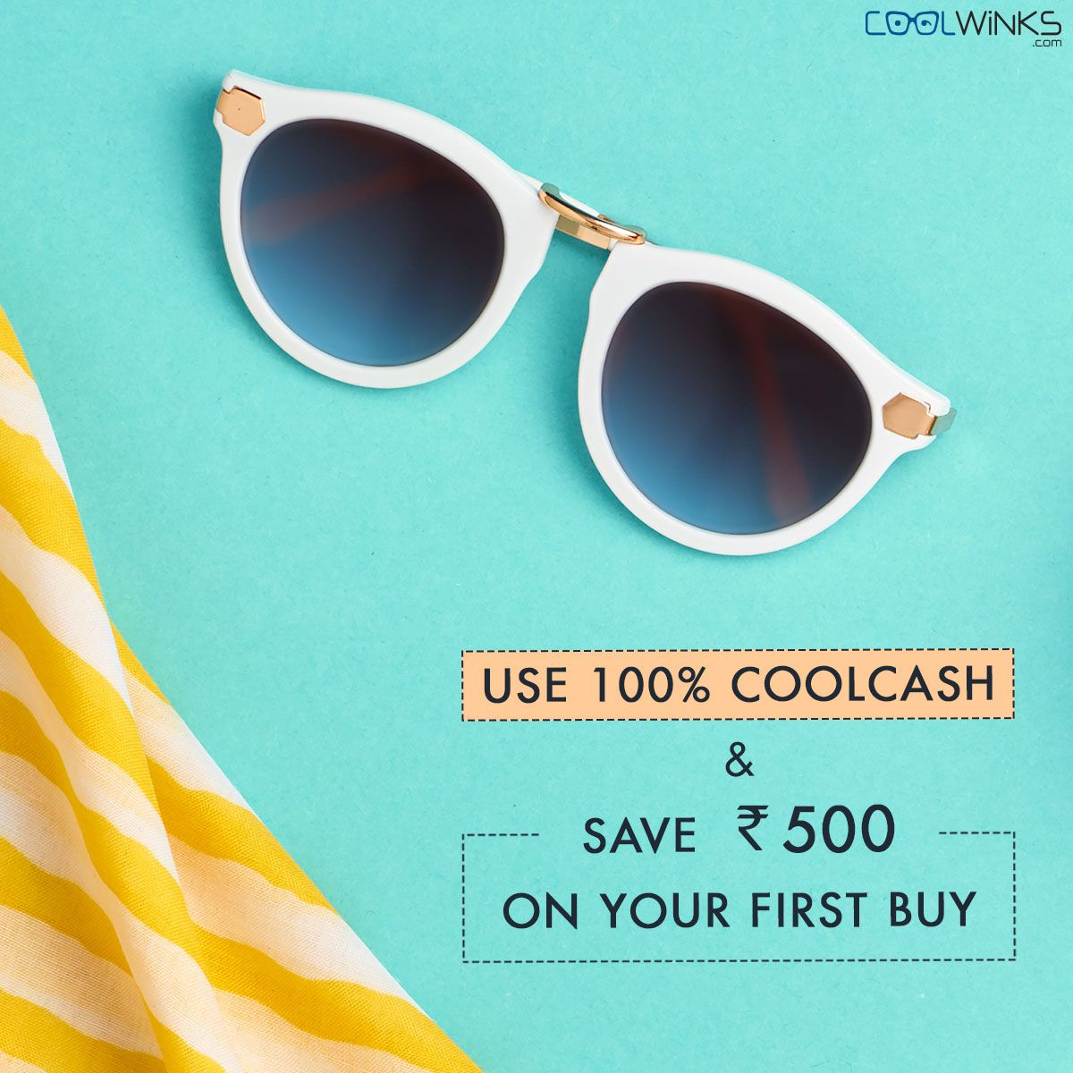 d783f543d1d Buy One Get One Offer on all Branded Sunglasses  Coolwinks Sale. Use 100%   CoolCash   Save UPTO Rs.500 on your first purchase. Shop Now.