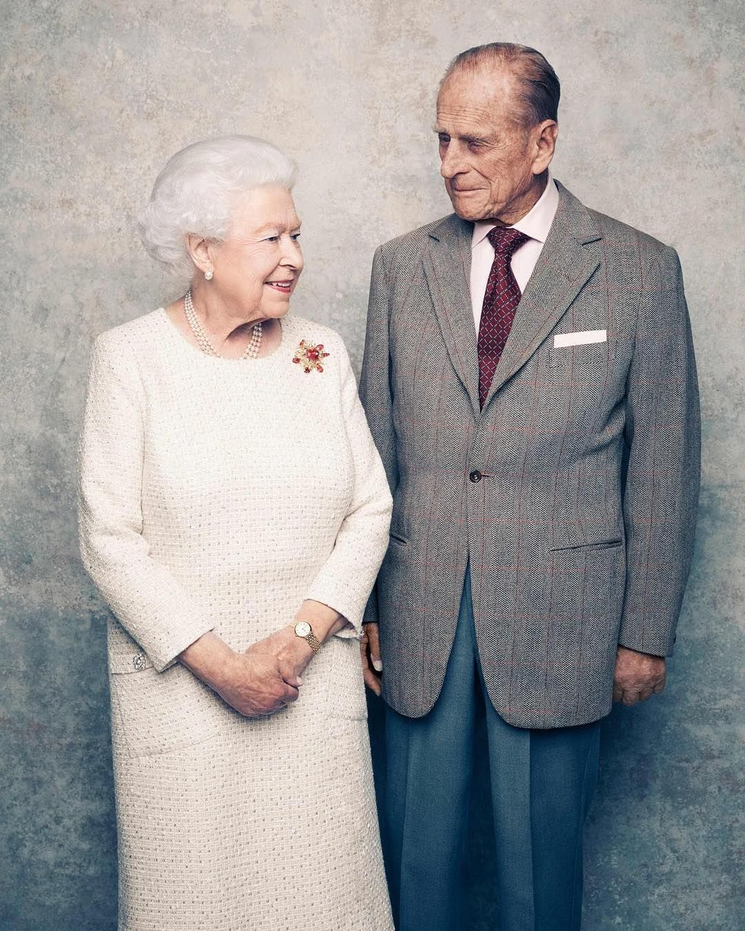 Bodas De Zinco A Rainha Elizabeth Ii E O Principe Philip