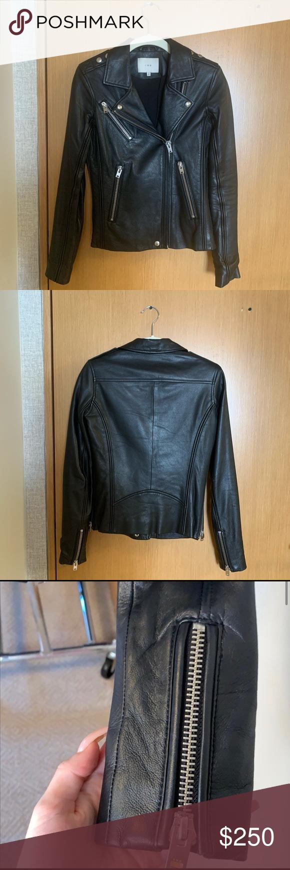 Iro Black Leather Jacket Leather Jacket Black Leather Jacket Black Leather [ 1740 x 580 Pixel ]