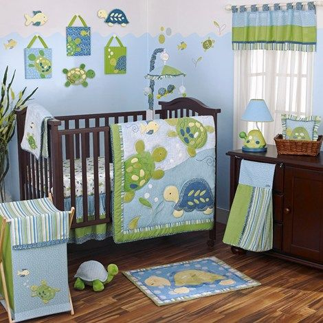 Turtle Reef - 8pc Bedding Set  Burlington Coat Factory. I don't plan on having children, but if i did.....