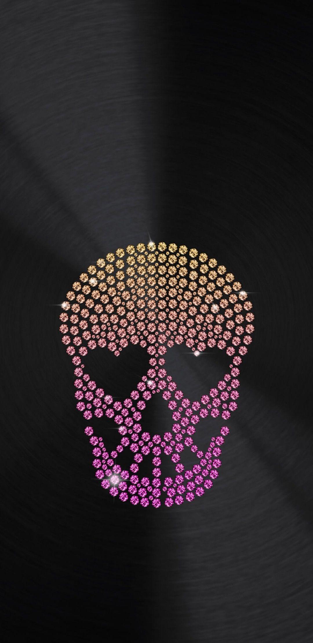 Pin By Olik On неон In 2019 Skull Wallpaper Sugar Skull