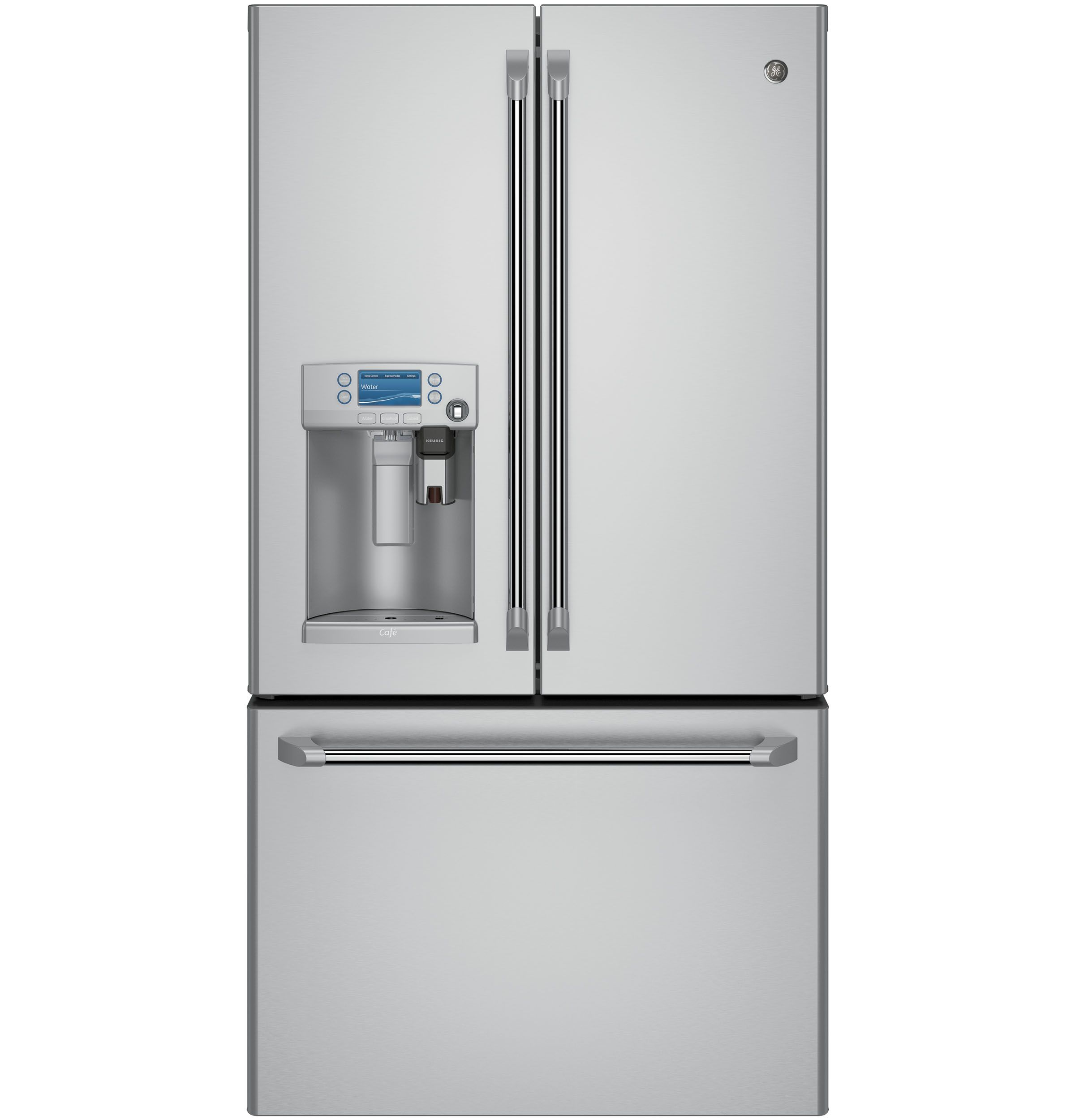Ge Cye22ushss French Door Refrigerator With Keurig K Cup Brewing