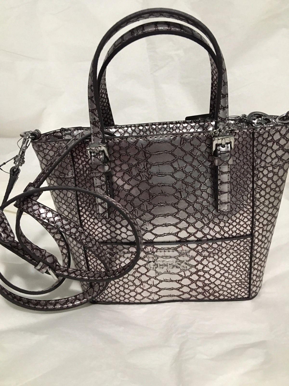 ffd914f132f9 Delaney 4G Logo Petite Tote Handbag With Crossbody Strap 4 Colors Bag NWT  XLV  39.99