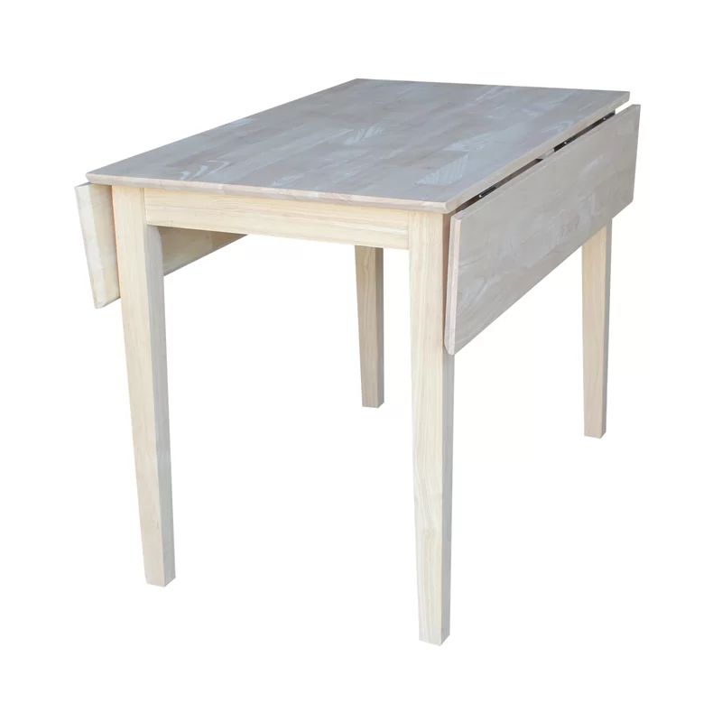 Wembley Extendable Solid Wood Dining Table in 2020