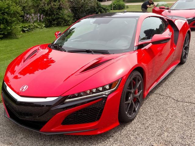 2 New Acura NSXs Have Been Spotted In The Wild And They Are Stunning
