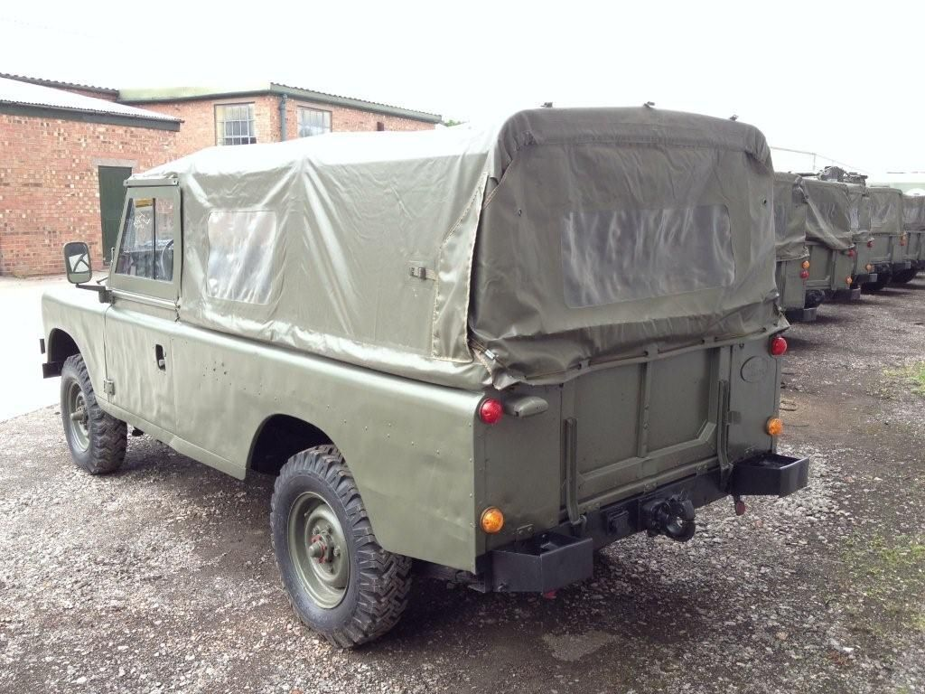 Land Rover Series 3 109 (Petrol) - 11517 - Ex Army UK » Ex Military ...