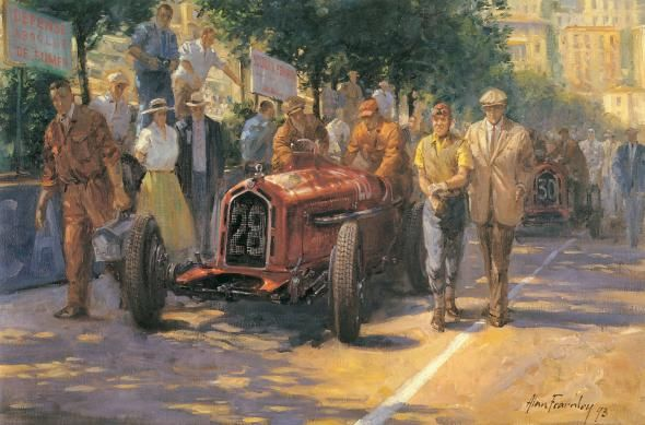 Painting by Alan Fearnley