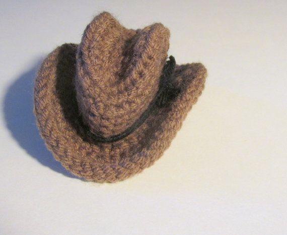 cowboy hat crochet sombrero vaquero pattern # 1