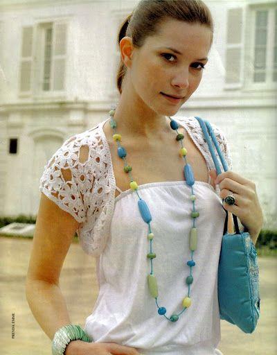 Delicadezas en crochet Gabriela: Patrones de boleros
