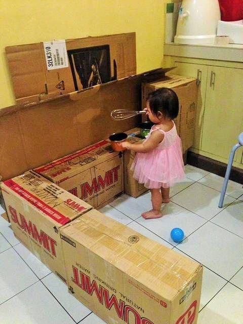 Selbermachen Mutter Verwandelt Alte Kartons In Eine Traumhafte
