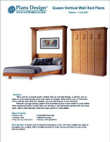 Robot Check Build A Murphy Bed Bed Woodworking Plans Murphy Bed Plans