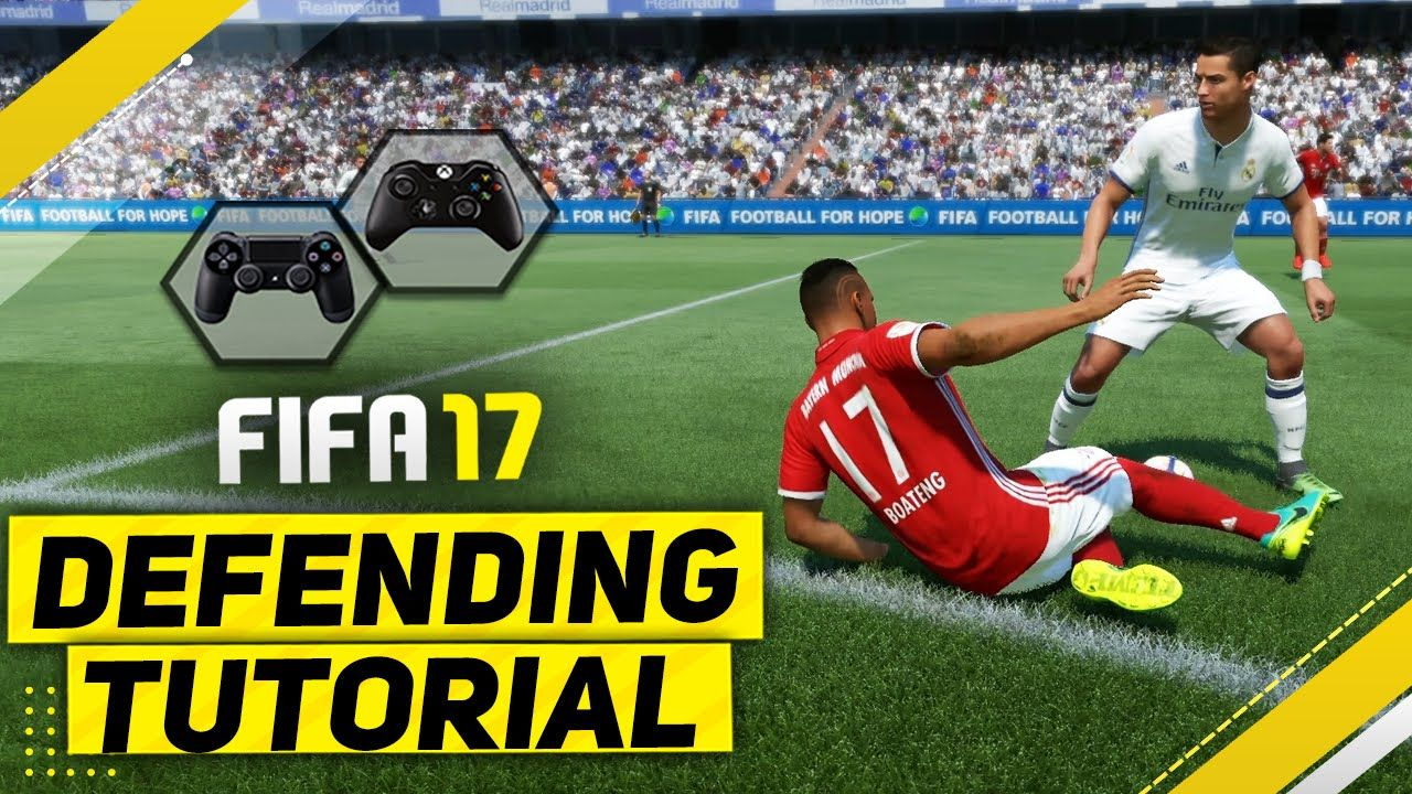 FIFA 17 DEFENDING TUTORIAL / How To Defend Effectively