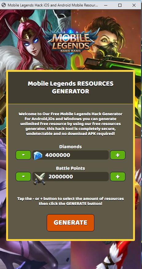 Mobile Legends Online Generator Free Diamonds Alucard Mobile Legends Mobile Legends App Hack