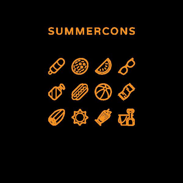 Summercons on Behance