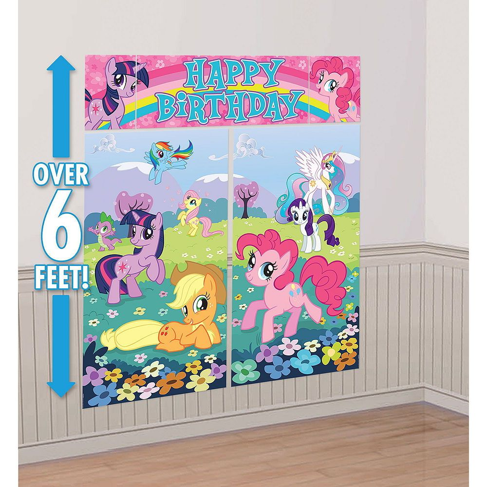My Little Pony Photo Booth Kit My Little Pony Party Supplies