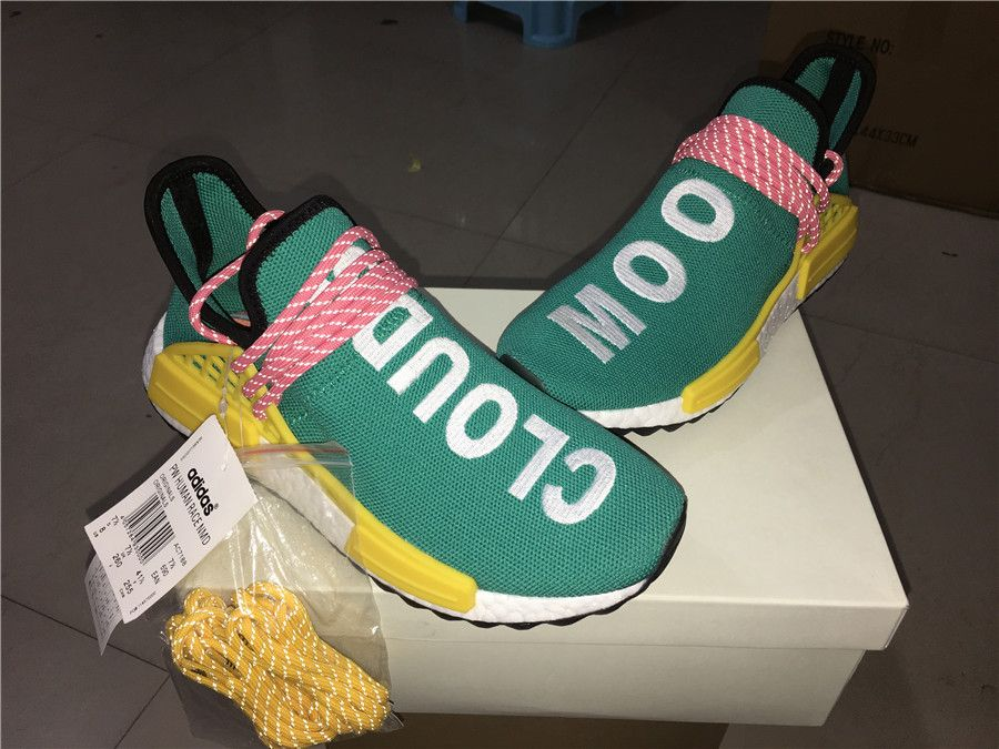 "f40f4d92d Adidas NMD Human Race Pharrell Williams ""Sun Glow"" Look my BIO link to get"