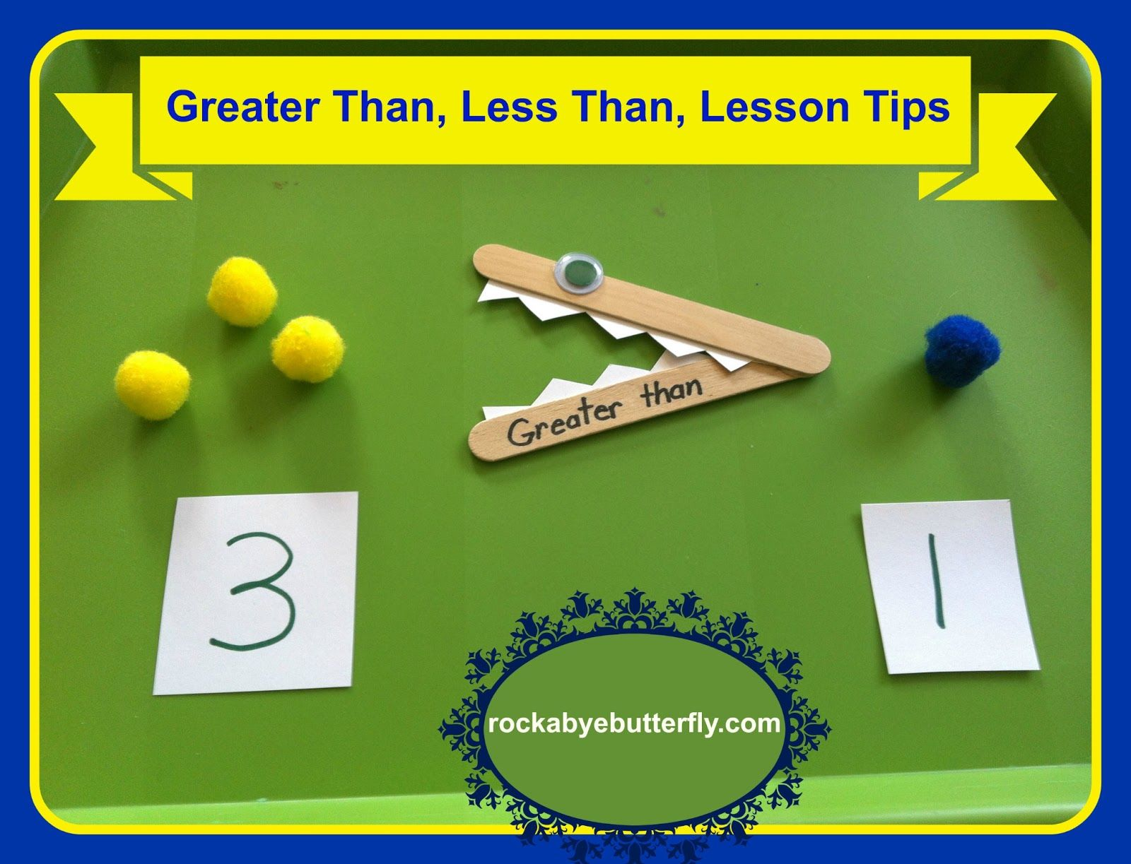 Hands On Math With Greater Than Gt And Less Than