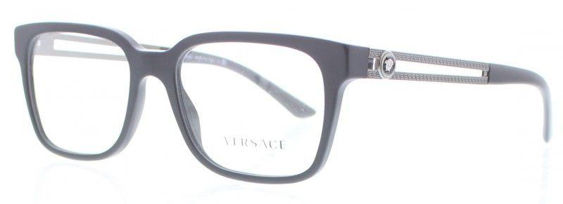 nouveau style 61dbc 1029e VERSACE VE3218 Noir 5122   Lunettes de vue Versace   Lunette ...
