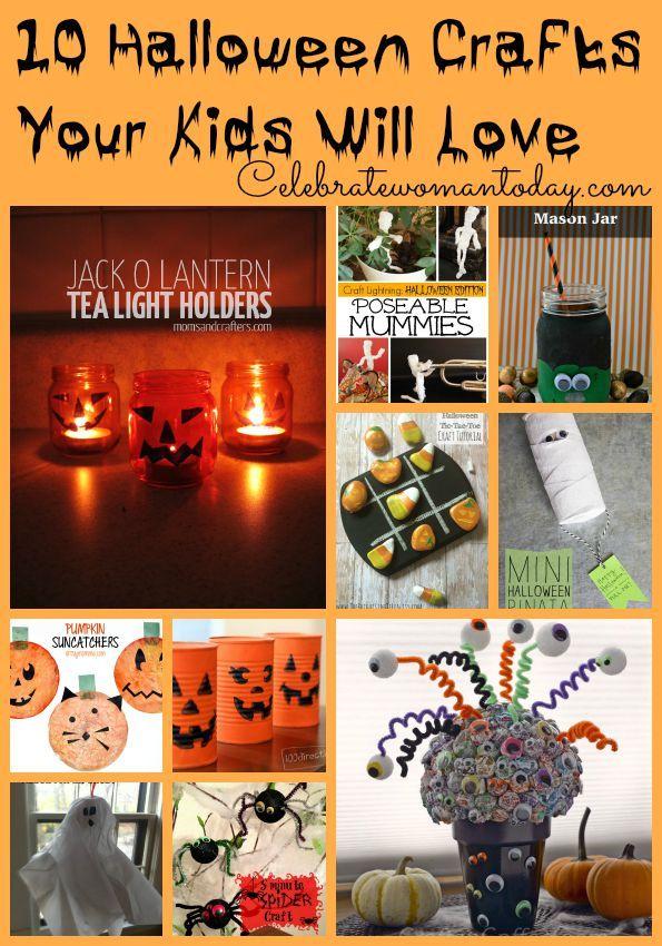 10 Halloween Crafts Your Kids Will Love DIY