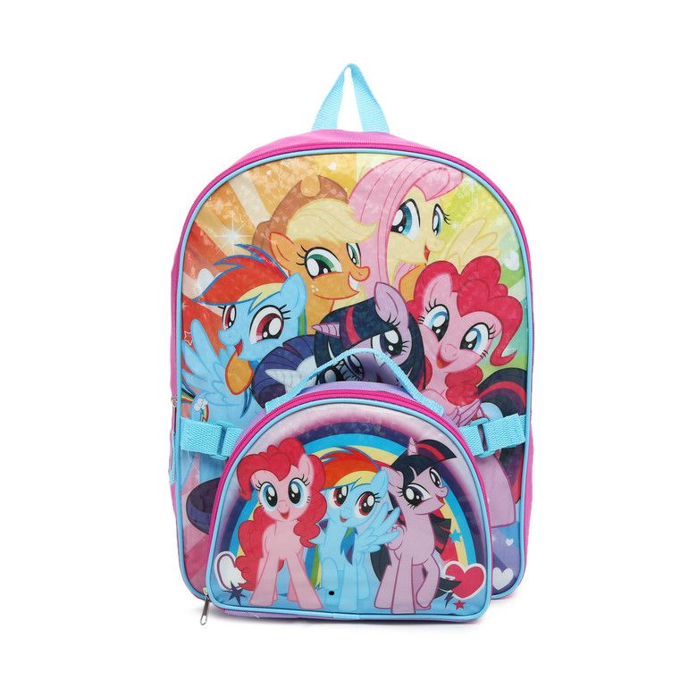 Official Licensed My Little Pony Girls Back To School Bags /& Lunch Sets