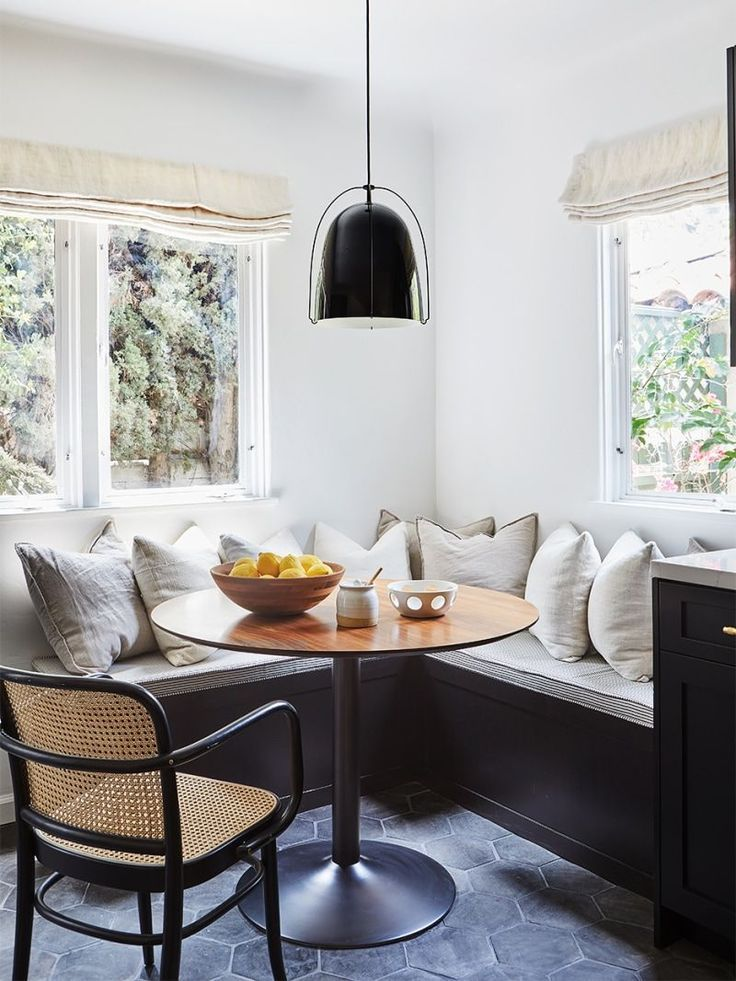 Terra-Cotta Floors Took Priority Over a Backsplash in This Kitchen Reno