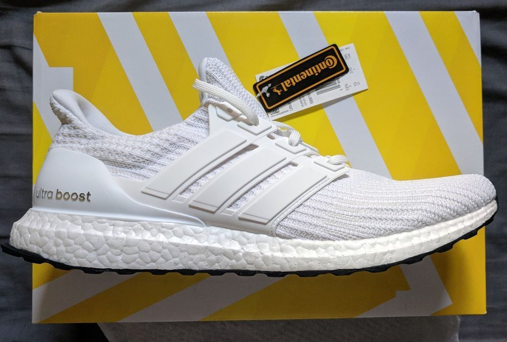 631e2965b80ce Brand New Ultra Boost 4.0 Triple White Size 13 BB6168  adidas  RunningShoes