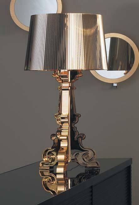 Lampada Bourgie Kartell Metallizzato Bourige Pinterest