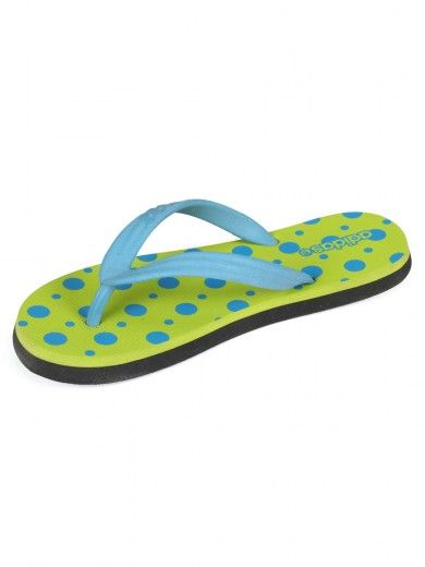 3b9a453009b36 Buy Adidas Green Colour Flip Flops With Polka Dot Styling (l39190 ...