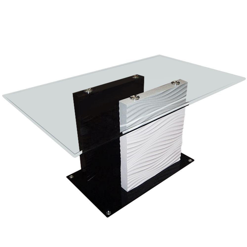 Pingl par menzzo fr sur table design table en verre table salle manger et design moderne - Table salle a manger en verre ...
