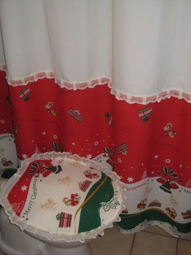 cortinas navideñas para cocina - Buscar con Google Navidad