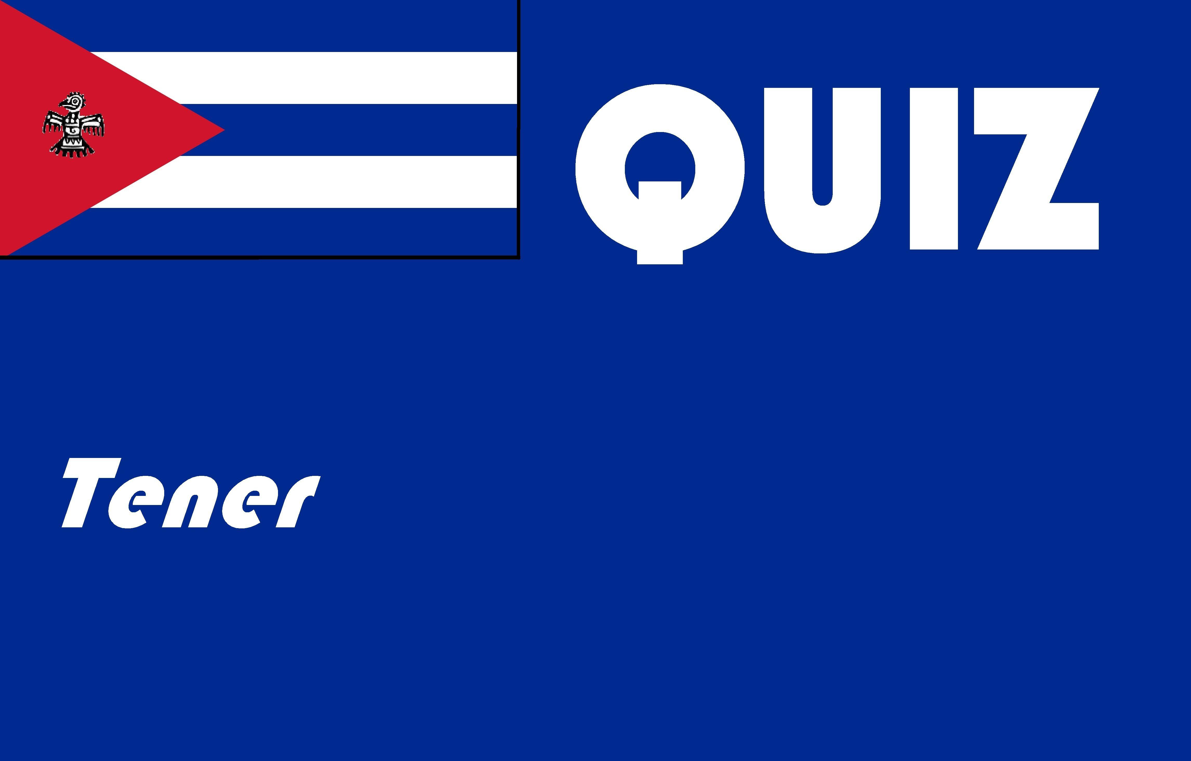 Spanish Tener Quiz Or Worksheet