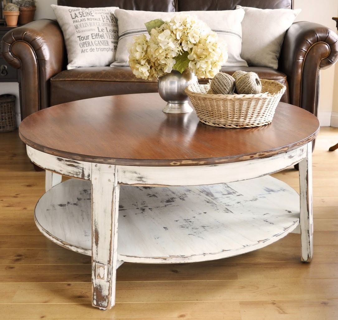 Distressed double coffee table distressed coffee table