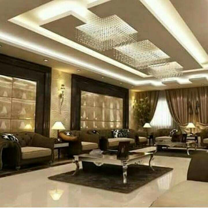 Modern Interior Decoration Living Rooms Ceiling Designs: Pin By Enas Kharbotly On Celing