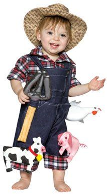 Gorgeous Little Farmer costume - great for parties or Halloween. View it here   sc 1 st  Pinterest & Gorgeous Little Farmer costume - great for parties or Halloween ...