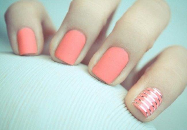 strip manicure