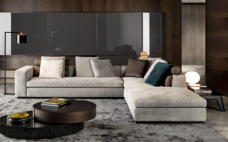 D coration salon 41 id es sur les meubles et les rev tements salons - Meubles minotti ...