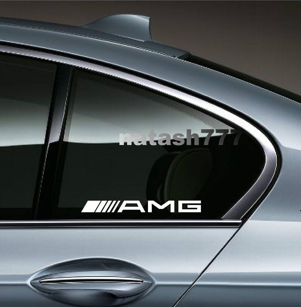Tuning Logo ref19 Sticker Auto Stickers Mercedes Benz Autocollant Voiture