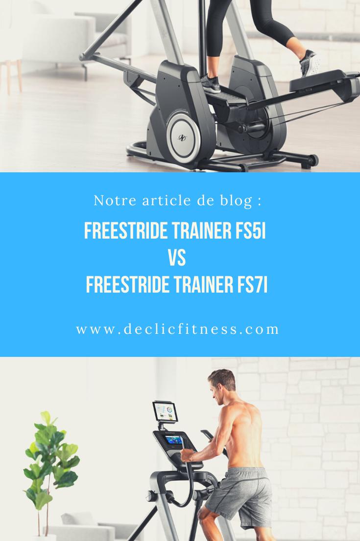 Notre Article Vous Offre Un Comparatif Tres Detaille Des Velos Elliptiques Freestride Trainer Fs5i En 2020 Appareil Fitness Cardio Training Plan Entrainement