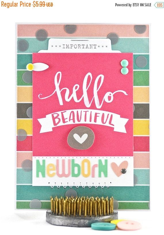 Baby's arrival is finally here and a little miracle has come into the world! A newborn baby card is the perfect way to convey your new baby congratulations. #thecardkiosk