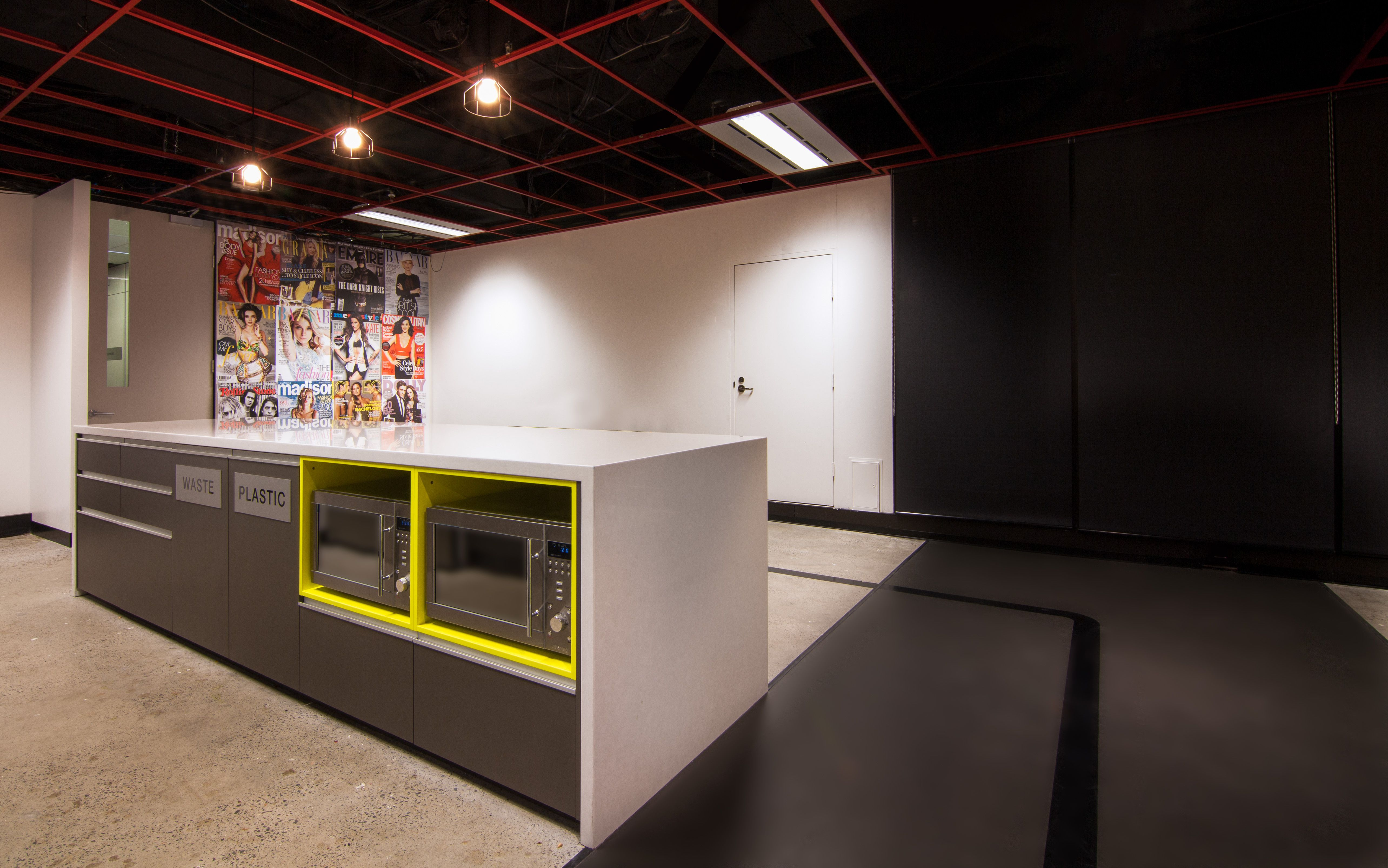 Maxus | The Bold Collective | Office kitchen breakout area ...