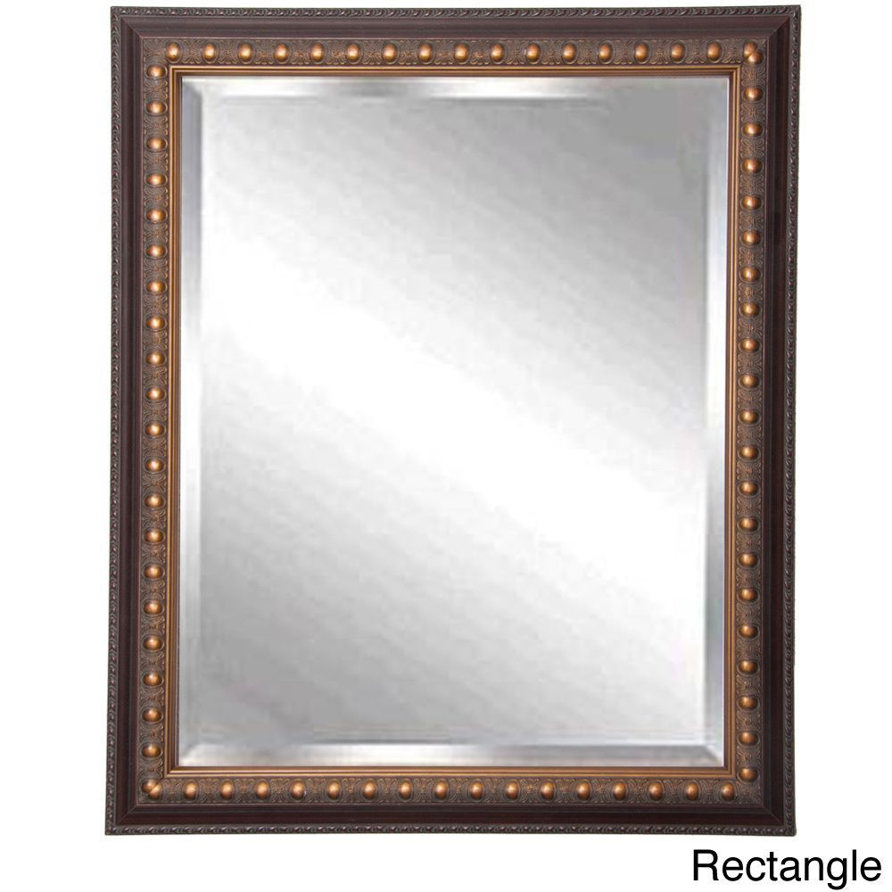 American made rayne traditional cameo bronze beveled wall mirror american made rayne traditional cameo bronze beveled wall mirror overstock shopping great amipublicfo Choice Image