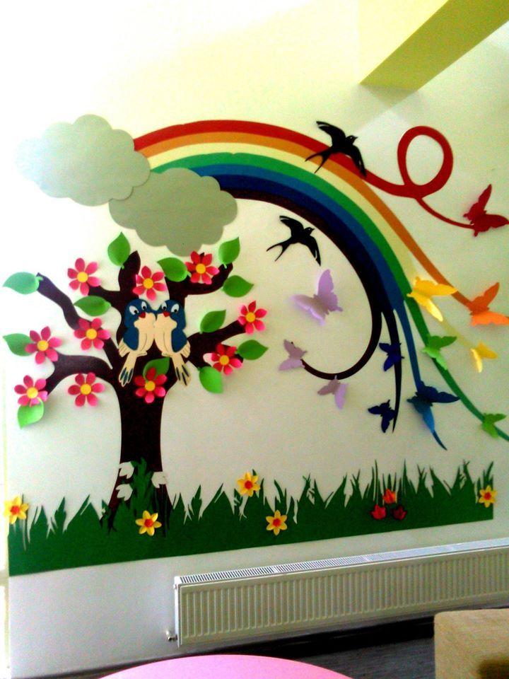 Decor De Primavara Classroom Wall Decor School Decorations Crafts