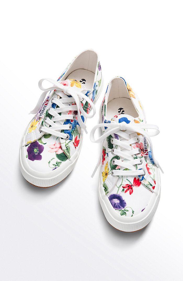 Superga® floral sneakers  f8d1cbf2c5fa5