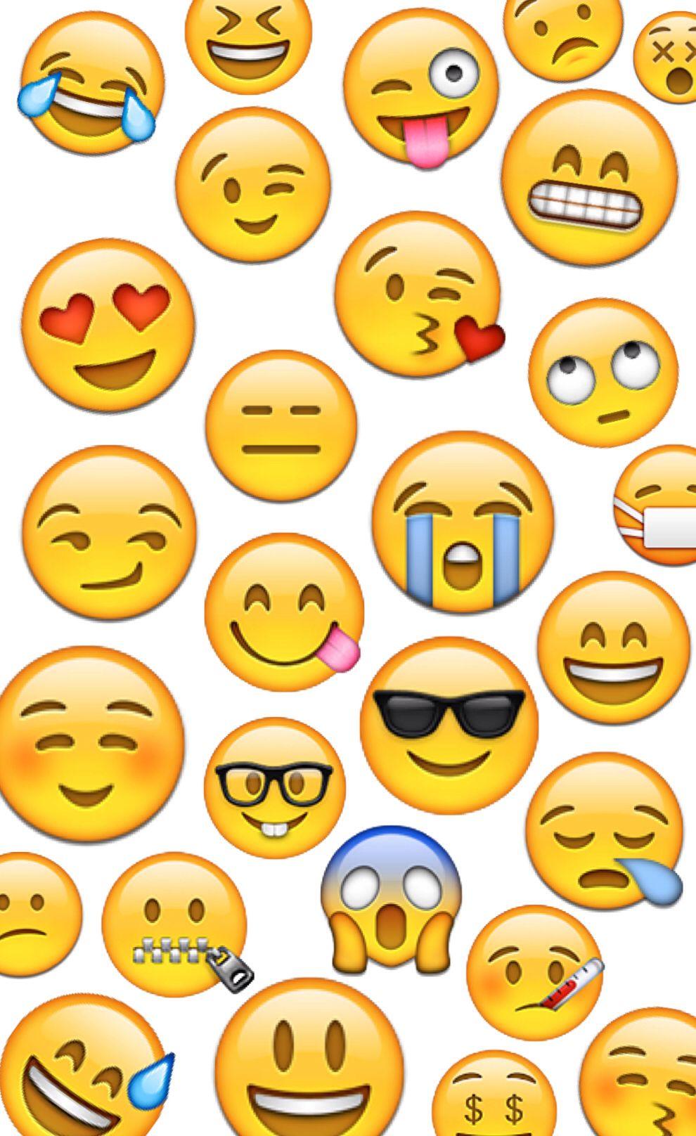 Emoji Wallpaper Emoji Wallpaper Wallpaper Ideas Text Me Papo Emojis Iphone