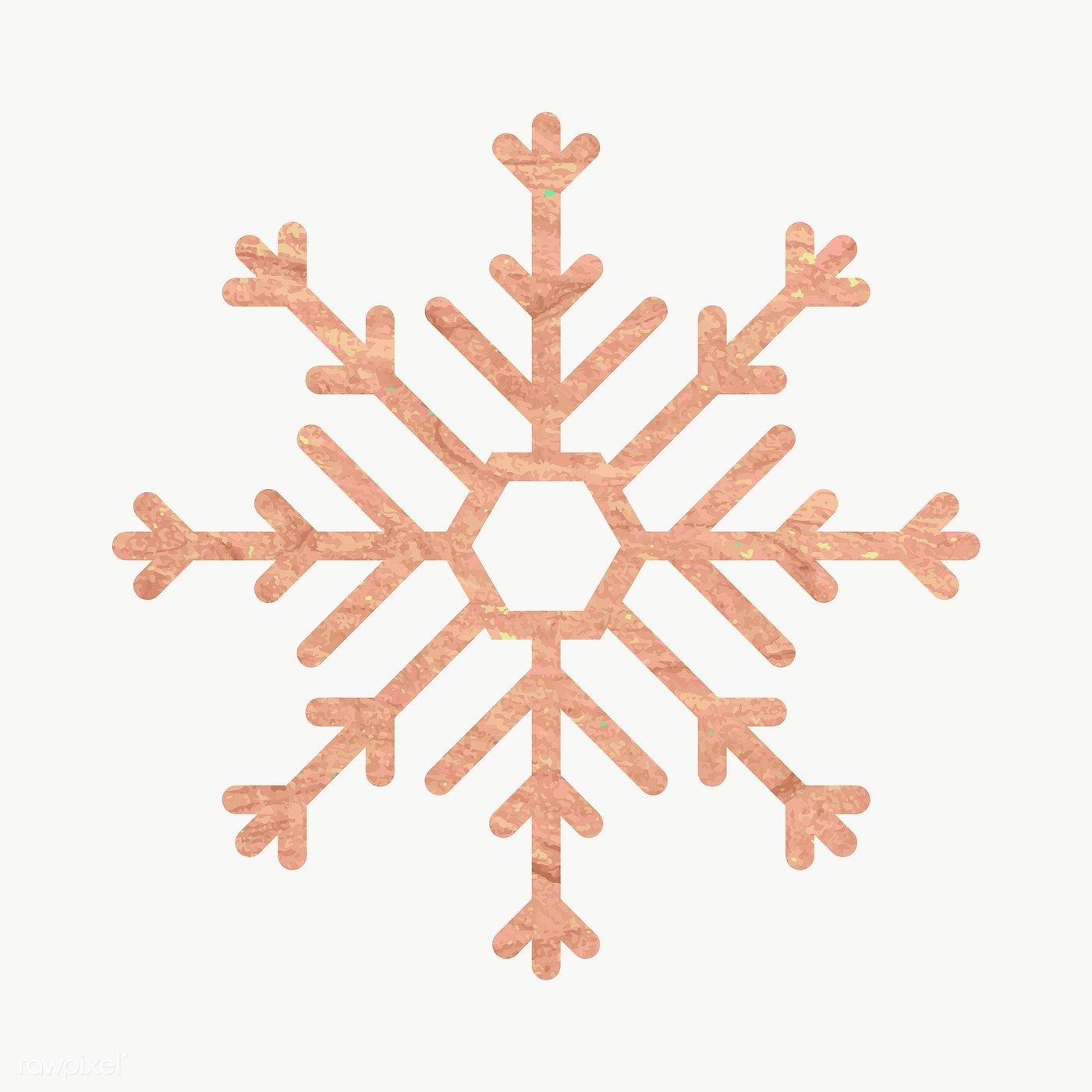 Download Premium Png Of Glittery Gold Snowflake Element Vector 1227583 Gold Snowflake Snowflakes Christmas Pattern Background