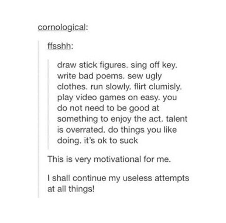 Useless attempts