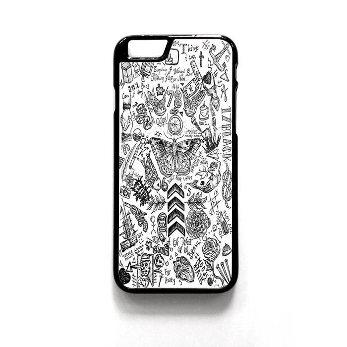 One Direction Tattoo For Iphone 4/4S Iphone 5/5S/5C Iphone 6/6S/6S Plus/6 Plus Phone case ZG