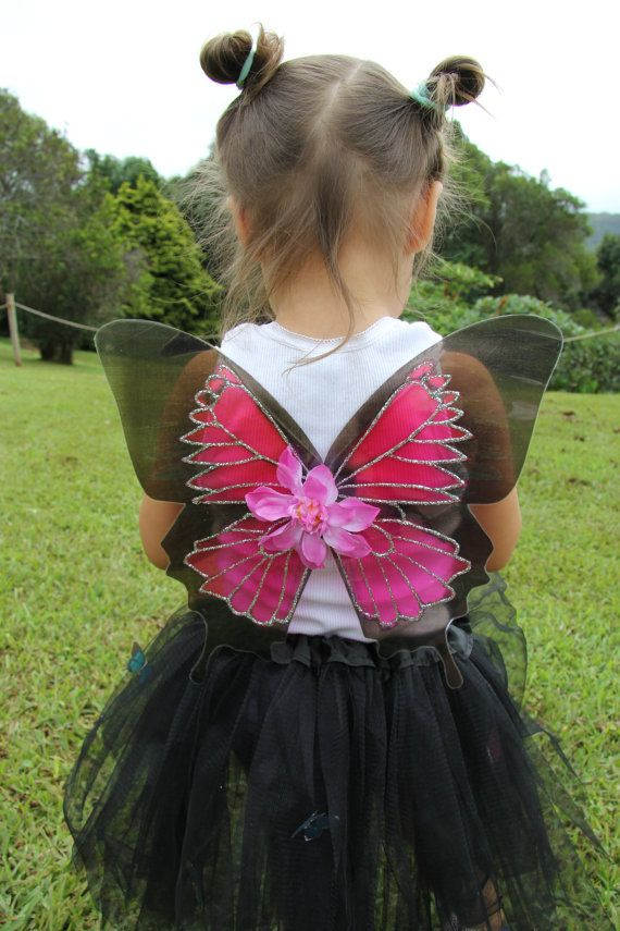 Gorgeous pink Ulysses Butterfly Fairy Wings Halloween Costume